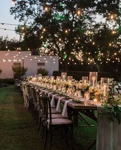 A romantic outdoors celebration.. ✨ | @afteryes | @poshcouturerentals | @bowsandarrowsflowers | @nicberrettphoto #wedding #reception #weddingday #decor #boda #theweddinginspirations