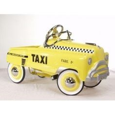 Cute Vintage Pedal Cars for Kids