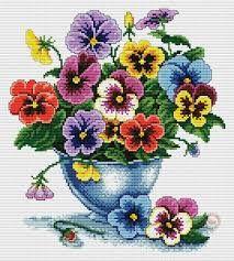 flower for embroidery cross stitch ile ilgili görsel sonucu
