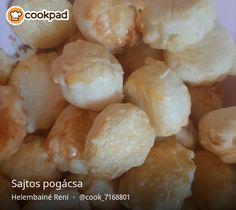 Sajtos pogácsa Shrimp, Garlic, Vegetables, Cooking, Food, Kitchen, Essen, Vegetable Recipes, Meals