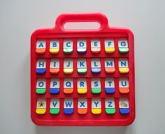 Vintage Fisher Price Flip Up Alphabet Learning by WylieOwlVintage, $22.00