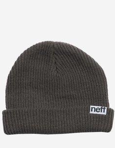 Neff - Fold Beanie charcoal