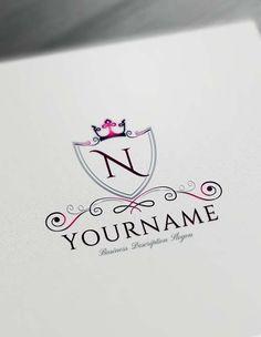 Luxurious Royal Logo Design Free Logo Maker Royal Royallogo Luxurious Luxuriouslogo Wedding