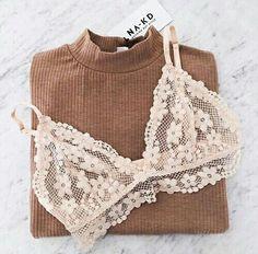 lace flower bra