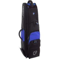 Fusion Premium Jazz Trombone Bag Black and Blue