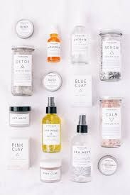 Image result for minimalist label skincare