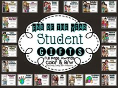 End of the Year Student Awards-full page color or b/w awards with matching candy bar wrappers! Classroom Procedures, Classroom Fun, Classroom Activities, Classroom Organization, Spring Activities, Classroom Management, Elementary School Counseling, Kindergarten Graduation, Elementary Schools
