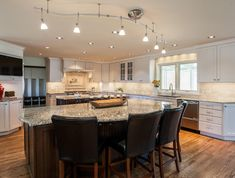 gorgeous kitchen great room renovation project in Denver CO
