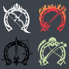 Four Horsemen Symbol | Re: Don't call them pretty ponies...