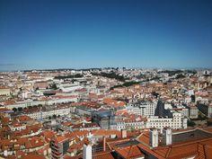 Next significal view of Lisbon from Castelo de Sao Jorge 🙆 _____________________ #lisbon #lisboa #Portugal #europe #saojorge #igersportugal #lisbonne #lisboalive #lisbonlovers #sky #houses #city #view #tbt #igdaily #instalove #girlswhotravel #darlingescapes #lovetotravel #traveldiary #travel #travelgram #viagem #travelgirl #traveler #solotravel #phototravel #vacation #travelphotography #wanderlust