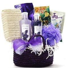 Gifts for women - lavender spa gift basket