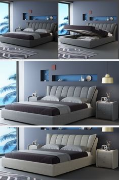 Modern Luxury Bedroom, Luxury Bedroom Furniture, Master Bedroom Interior, Luxury Bedroom Design, Bed Furniture, Luxurious Bedrooms, Living Room Sofa Design, Bedroom Closet Design, Home Room Design