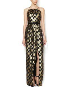 Silk Chiffon Belted Gown by Jason Wu at Gilt