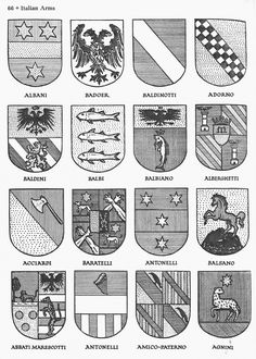 Crests black europe family nobility of