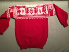 Liverpool Handknitted Jumper 100% Wool | Etsy