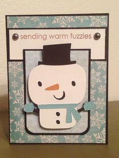 Cricut Create-A-Critter 2 Snowman Card