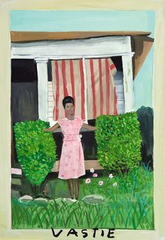 Painting by Maira Kalman Perhaps she stood there so that she could stand still. -Daniel Handler
