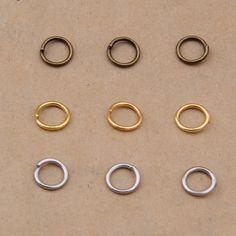 5 мм - 9 мм 200 шт./лот металла DIY ювелирных изделий старинные бронзовая открытые перейти кольца сплит-кольцо для изготовления ювелирных изделий,фурнитура для бижутерии