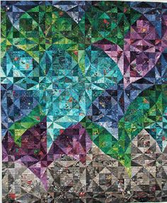 Joan M. Ladendorf's Pieced & Quilted Art...So Wow