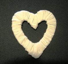 Crafty Sue: Raffia Heart