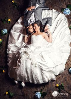 Couture Bride and Groom Portrait Big Day, Wedding Photos, Groom, Wedding Inspiration, Flower Girl Dresses, Romantic, Bride, Portrait, Western Weddings