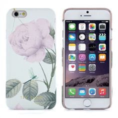 22860_ted_baker_hard_shell_loouise_crosshatch_distinguished_rose_mint_apple_iphone_6_01_1.jpg (690×690) featuring polyvore, fashion, accessories and tech accessories