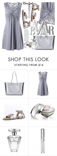 """Rosegal"" by selmir ❤ liked on Polyvore featuring Alexander McQueen, Seychelles, Anja, Shiseido, Avon and Chantecaille"