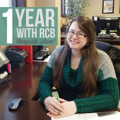 Happy One Year ‪#‎Workiversary‬ to one of our lovely CSR's, Samantha! We're so lucky to have you! We wish you many more with R.C. Brayshaw!