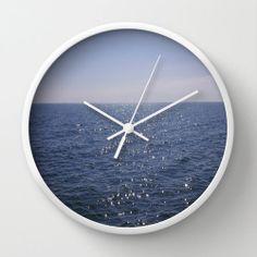 #Ocean Wall #Clock #Room #Office #Decor #Beach by PhotographybyLadybug, $50.00