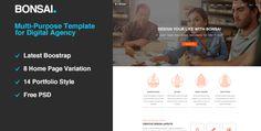 Bonsai   Multi-purpose HTML5 Template for Digital Agency