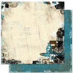 Bo Bunny Press - Mama-razzi Collection - 12 x 12 Double Sided Paper - Mama-razzi Shutter at Scrapbook.com $1.01