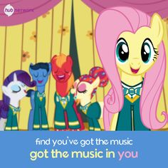 The music was always in you all this time!