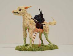 """""""My Mother, Euphoria"""", polymer clay and mixed medium, 2013. (DaveandJenn)."""