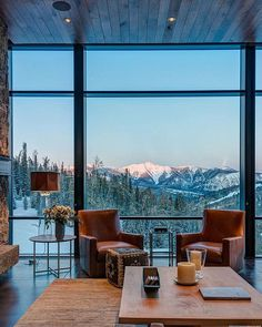 Mountain Modern - Montana  View more photos: http://www.pearsondesigngroup.com/projects/modern/mountain-modern/  #pearsondesigngroup #PDG #modern #alpine #montana #mountains #architecture #architect