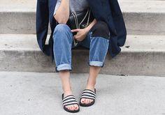 O chinelo que tá na moda