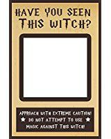 Have You Seen This WITCH Selfie Frame Social Media Frame Photo Booth Prop Poster