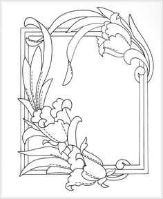 pergamano - Page 4 Parchment Design, Parchment Craft, Leather Tooling Patterns, Leather Pattern, Page Borders Design, Border Design, Stained Glass Designs, Stained Glass Patterns, Craft Patterns