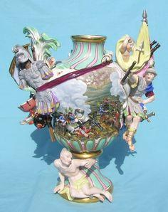Meissen, porcelain art
