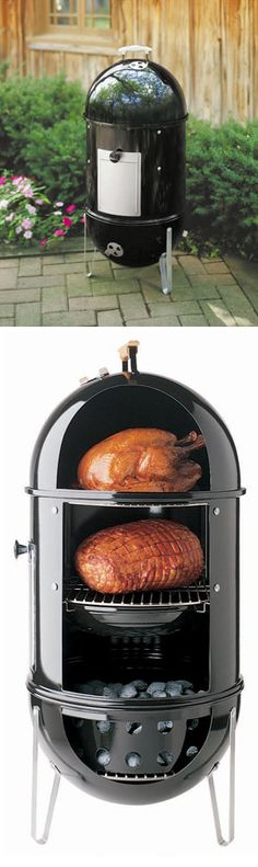 Weber Smokey Mountain Love my weber grill and smoker!--Foodies dont need baubles or rings or fancy anythings..just love and smoked meat<3