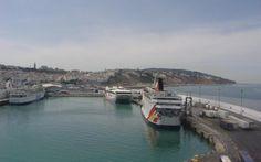 Harbor at Tangier.