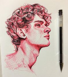 Credit to the artist – Art Sketches Art Inspo, Kunst Inspo, Pencil Art Drawings, Art Drawings Sketches, Sketch Drawing, Drawing Ideas, Sketching, Biro Drawing, Deep Drawing