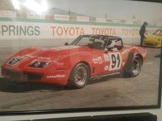 My old IMSA GO Corvette.