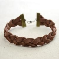 Here show a simple way to make a suede cord bracelet by doing 3 strands braids. It makes a cool jewelry accessory for both male and female. Braided Bracelets, Cord Bracelets, Bracelets For Men, Handmade Bracelets, Handmade Jewelry, Leather Bracelets, Bangles, Leather Jewelry, Wire Jewelry
