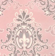ReSerVed Listing for Jane - Puttin' on the Ritz Pink Damask - By Bunny Hill Designs for Moda - 2820 16