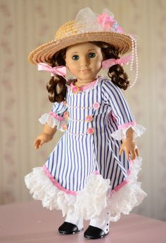 "SOLD ""Edwardian Spring""Dress,Clothes,Outfit for 18""American Girl Samantha  #ClothingShoes"