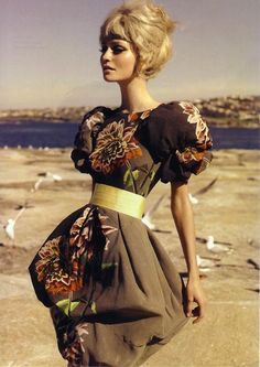 Stunning bouffant dress