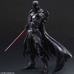 Square Enix is now producing a line of badass Star Wars figures which put the Black series to shame. Check out Boba Fett, Darth Vader and a Stormtrooper. Darth Vader Star Wars, Darth Vader Action Figure, Star Wars Action Figures, Star Citizen, Figurine Star Wars, Arte Dc Comics, Mode Shop, Star Wars Characters, Fantasy Characters