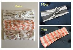 While on Pinterest the other day, I came across these stretchy knotted headbands and knew that I had to have one ... or five. After my credit card info had been entered and I was about to place my ...
