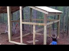 video: how to build a goat pen/ chicken coop