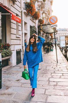 Durante las semanas de la moda las calles se convierten en pasarelas y aquí encontrarás los mejores conjuntos de tus influencers e instagramers favoritas.